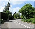 ST3193 : Bend in Caerleon Road, Llanfrechfa, Torfaen by Jaggery