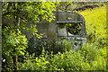 SO7019 : Abandoned caravan by Jonathan Billinger