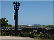 SK4023 : Beacon at the Breedon Hill Viewpoint by Mat Fascione