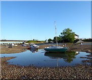 TQ2105 : Low Tide, River Adur by Simon Carey