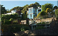 SX9263 : Houses above Parkhill Road, Torquay by Derek Harper