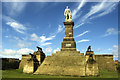 NZ3769 : Admiral Collingwood Monument, Tynemouth by Colin Park