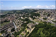 SE0724 : Looking towards the Pye Nest district of Sowerby Bridge from Wainhouse Tower by Colin Park