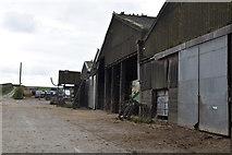 TQ6139 : Barns, Little Bayhall Farm by N Chadwick