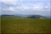 NT1615 : The grassy summit of White Coomb by Colin Park