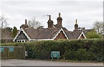 TQ5939 : Lodge, Camden Park by N Chadwick