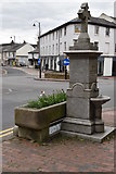 TQ5839 : Fountain and water trough by N Chadwick