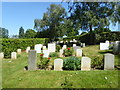 TQ4276 : In the Norwegian section of Greenwich Cemetery by Marathon