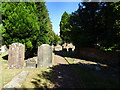 SO8594 : Churchyard View by Gordon Griffiths