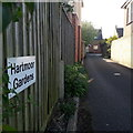 SZ0794 : Ensbury Park: Hartmoor Gardens by Chris Downer