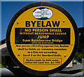 SD3584 : Local Byelaw by Peter McDermott