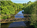 SD7407 : River Croal at Farnworth by David Dixon