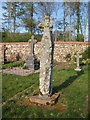 NY5218 : Old Wayside Cross by Mike Rayner