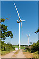 SW9448 : Garlenick Wind Farm by Mike Lyne