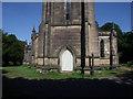 SE3528 : St John's church, Oulton: west doors by Stephen Craven