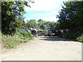 TM4291 : Beccles Waste Recycling Centre by Geographer
