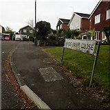 SZ0896 : Northbourne: Heads Farm Close by Chris Downer