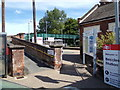 TM4290 : Beccles Railway Station Bridge by Adrian Cable
