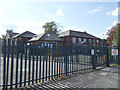 SE2537 : Hawksworth primary school, east side by Stephen Craven