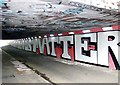 TG2208 : Grapes Hill underpass - Black Lives Matter by Evelyn Simak