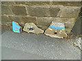 SE2438 : Spider stones, Broadgate Lane, Horsforth by Stephen Craven