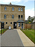 SE2437 : Catherines Walk, Outwood Lane, Horsforth: show house by Stephen Craven