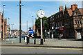 SJ4166 : J B Joyce Clock in Foregate Street, Chester by Jeff Buck
