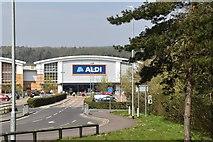 TQ6042 : Aldi, Great Lodge Retail Park by N Chadwick