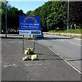 ST3188 : Thank you NHS + Key Workers, Crindau, Newport by Jaggery