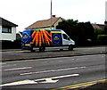ST3090 : Peter Broughton van ascending Malpas Hill, Newport by Jaggery