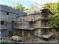 NJ8300 : Upper Kennerty Mills, scaffolded (1) by Stephen Craven