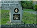 NJ8400 : Peterculter parish church - Boys' Brigade plaque by Stephen Craven