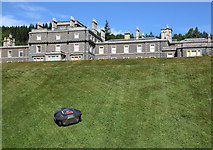 NT4227 : Bowhill House and lawns by Walter Baxter