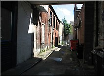 TG2309 : Looses Yard off Magdalen Street by Evelyn Simak