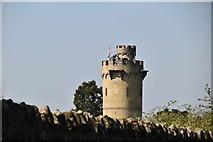 TQ5641 : Water tower, Salomons House by N Chadwick