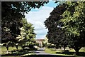 SO5730 : Fawley Court through the maples by John Winder
