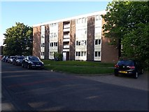 NZ2567 : Flats, Alnmouth Drive, Gosforth, Newcastle upon Tyne by Graham Robson