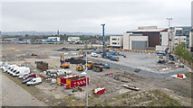 J3574 : Construction site, Belfast by Rossographer