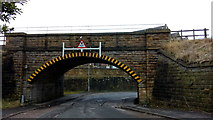 SE0641 : K & WVR Bridge over Low Mill Lane, Keighley by Stephen Armstrong
