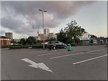 TQ1986 : Wembley Stadium from Asda car park by David Howard