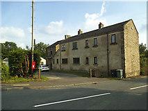 SE1926 : Drub village postbox by Stephen Craven
