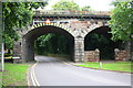 SK2103 : Railway viaduct over Amington Road by Roger Templeman