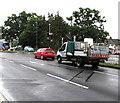 ST3091 : Newport City Homes lorry, Malpas Road, Newport by Jaggery