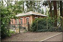 TQ5639 : Pumping Station, Denny Bottom by N Chadwick