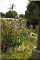 SX8570 : Pedestrian entrance, Wolborough churchyard by Derek Harper
