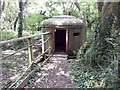 SP1803 : Norcon pillbox, former RAF Southrop, Horseshoe Wood by Vieve Forward