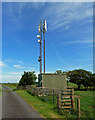 NS3913 : Communications mast by Mary and Angus Hogg