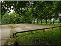 SE2632 : Western Flatts Cliff Park: car park by Stephen Craven