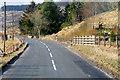 NT0621 : A701 at Glenbreck by David Dixon