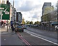 TQ2684 : Finchley Rd approaching Swiss Cottage by N Chadwick